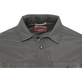 Craghoppers NosiLife Adventure Longsleeve Shirt Men Black Pepper